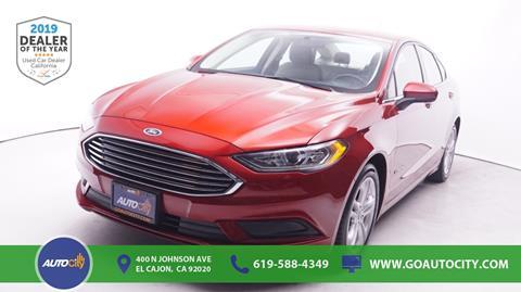 2018 Ford Fusion Hybrid for sale in El Cajon, CA