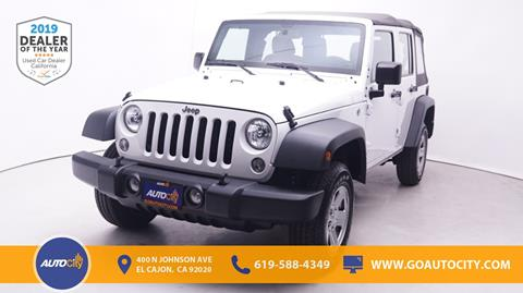 2017 Jeep Wrangler Unlimited for sale in El Cajon, CA