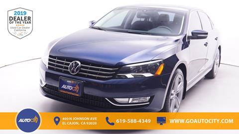 2014 Volkswagen Passat for sale in El Cajon, CA