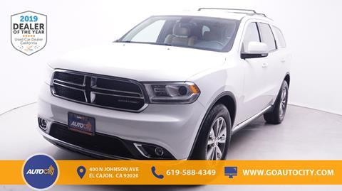 2015 Dodge Durango for sale in El Cajon, CA