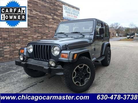 2001 Jeep Wrangler for sale in Wood Dale, IL