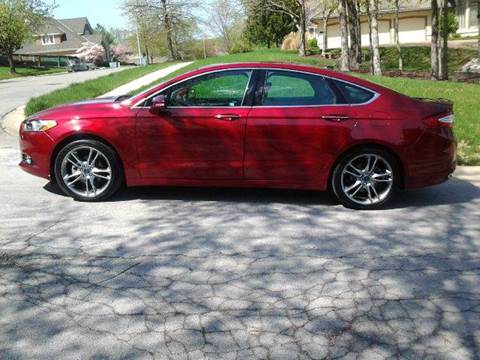 2013 Ford Fusion for sale at Computerized Auto Search in Kansas City MO