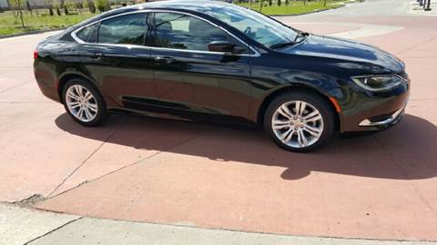 2015 Chrysler 200 for sale at Computerized Auto Search in Kansas City MO