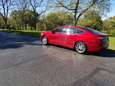 2017 Ford Fusion for sale at Computerized Auto Search in Kansas City MO