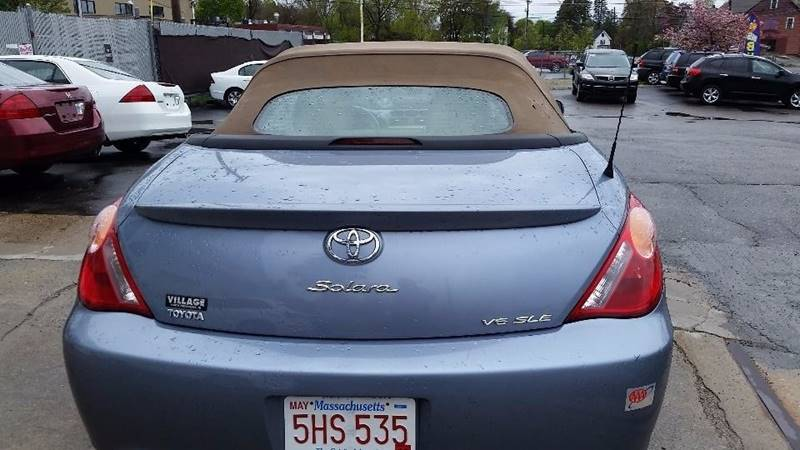 2005 Toyota Camry Solara SLE V6 2dr Convertible - Billerica MA