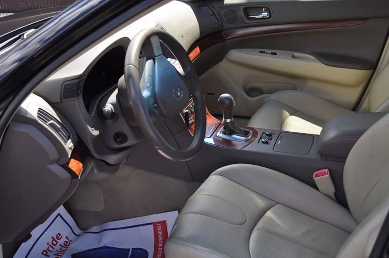 2009 Infiniti G37 Sedan AWD x 4dr Sedan - Billerica MA