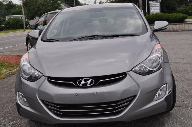 2012 Hyundai Elantra Limited 4dr Sedan - Billerica MA
