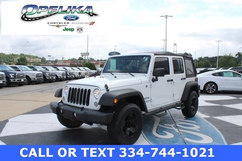 2014 Jeep Wrangler Unlimited for sale in Opelika, AL
