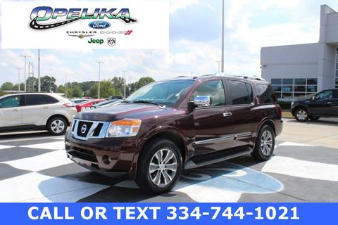 2015 Nissan Armada for sale in Opelika, AL