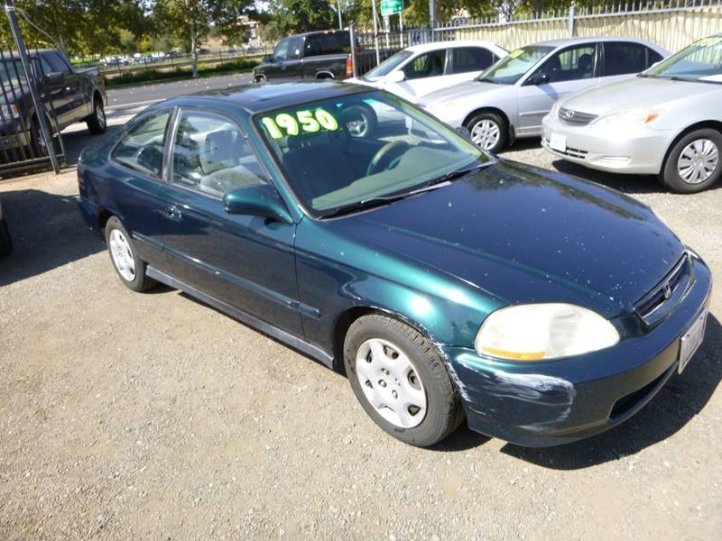 1998 Honda Civic EX 2dr Coupe   Roseville CA