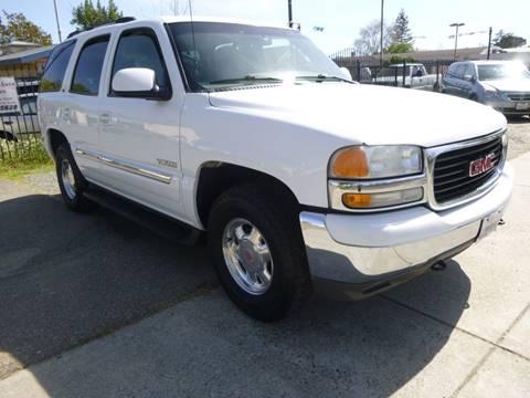 2000 GMC Yukon for sale in Roseville, CA