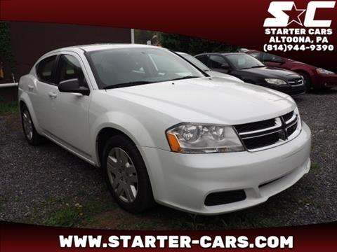 2013 Dodge Avenger for sale in Altoona, PA