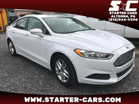 2014 Ford Fusion for sale in Altoona, PA