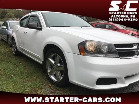 2011 Dodge Avenger for sale in Altoona, PA