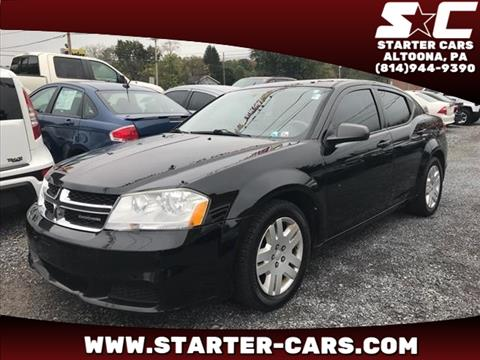 2011 Dodge Avenger for sale in Altoona, PA