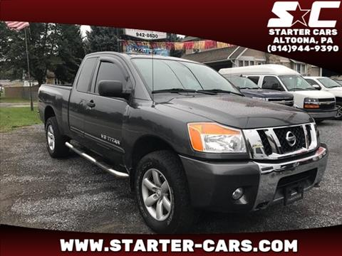2010 Nissan Titan for sale in Altoona, PA