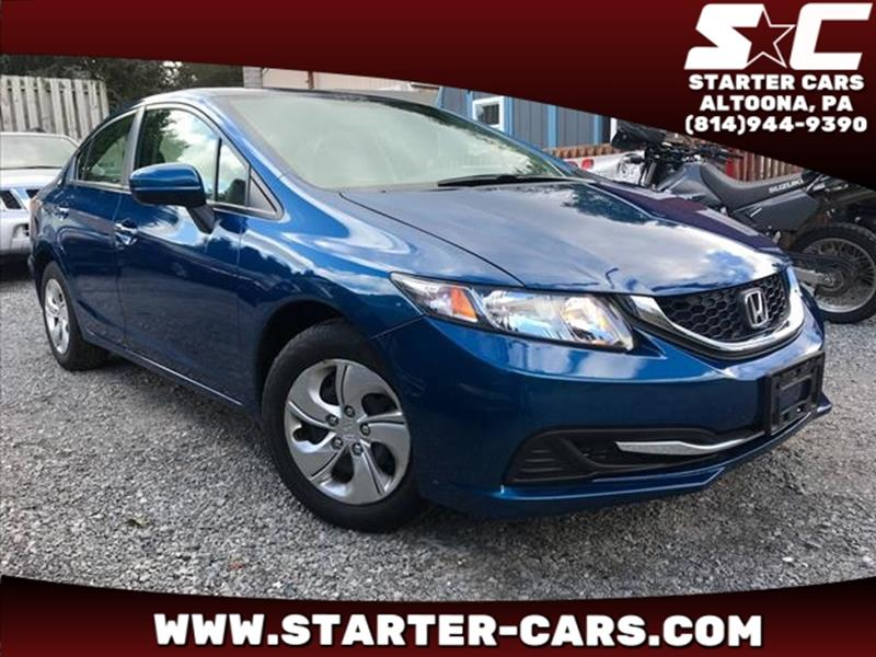 2015 Honda Civic LX In Altoona, PA - Starter Cars on lexus ls400 starter, buick rendezvous starter, toyota supra starter, nissan hardbody starter, scion xa starter, mitsubishi evo 8 starter, honda cr-v starter, 2006 civic starter, del sol starter, chevy hhr starter, ford e350 starter, 1999 jeep starter, honda passport starter, 2003 civic starter, 92 civic starter, 98 honda starter, honda accord starter, chevy s-10 starter, 94 civic starter, mitsubishi eclipse starter,