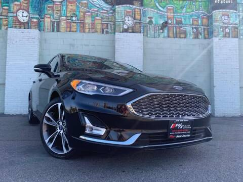 2019 Ford Fusion Titanium for sale at R/T AUTO CENTER LLC in Newark NJ