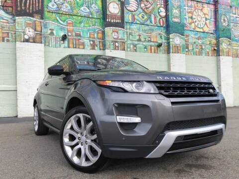 2015 Land Rover Range Rover Evoque Coupe Dynamic for sale at R/T AUTO CENTER LLC in Newark NJ