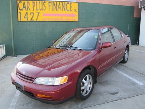 1995 honda accord lx 2.2 l manual sedan