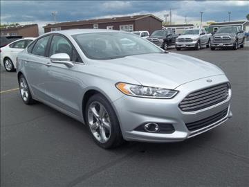2016 Ford Fusion for sale at 20TH CENTURY FORD DODGE in Blackfoot ID
