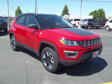 2017 Jeep New Compass for sale at 20TH CENTURY FORD DODGE in Blackfoot ID