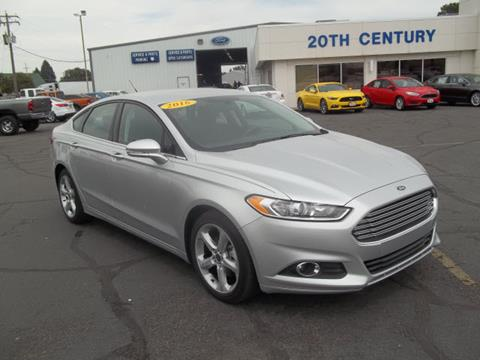 2016 Ford Fusion for sale in Blackfoot, ID