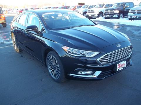 2017 Ford Fusion for sale at 20TH CENTURY FORD DODGE in Blackfoot ID