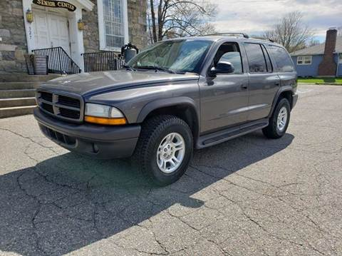 2003 Dodge Durango for sale at GREAT MEADOWS AUTO SALES in Great Meadows NJ
