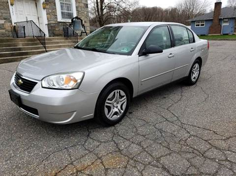 2006 Chevrolet Malibu for sale at GREAT MEADOWS AUTO SALES in Great Meadows NJ