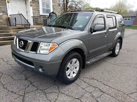 2005 Nissan Pathfinder for sale at GREAT MEADOWS AUTO SALES in Great Meadows NJ