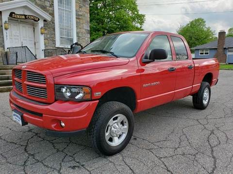 2003 Dodge Ram Pickup 2500 for sale at GREAT MEADOWS AUTO SALES in Great Meadows NJ