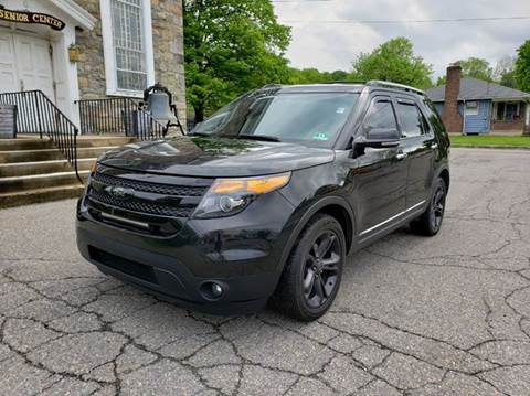 2013 Ford Explorer for sale at GREAT MEADOWS AUTO SALES in Great Meadows NJ