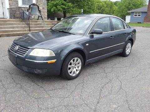 2002 Volkswagen Passat for sale at GREAT MEADOWS AUTO SALES in Great Meadows NJ