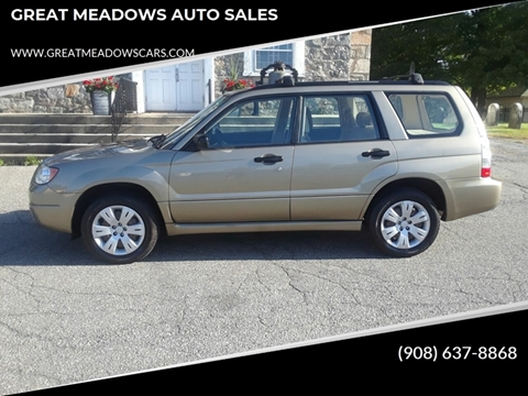 2008 Subaru Forester for sale in Great Meadows, NJ