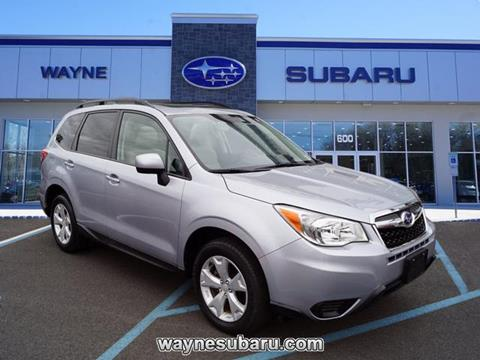 2016 Subaru Forester for sale in Wayne, NJ