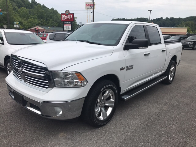 2014 ram ram pickup 1500 4x4 big horn 4dr crew cab 5 5 ft sb pickup in weston wv turner 39 s inc. Black Bedroom Furniture Sets. Home Design Ideas