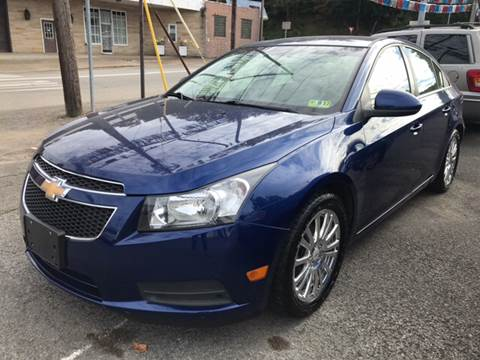2012 Chevrolet Cruze for sale in Weston, WV