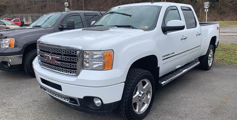 2011 GMC Sierra 2500HD for sale in Weston, WV
