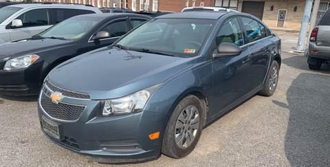 2012 Chevrolet Cruze for sale in Weston, WV
