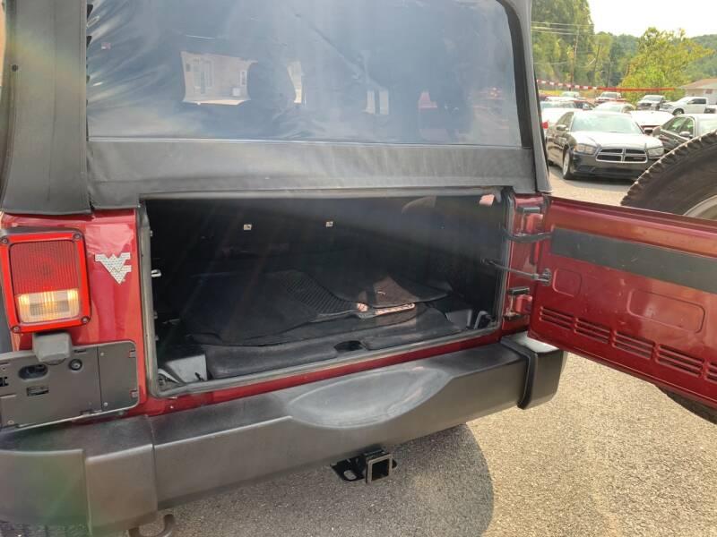 2013 Jeep Wrangler Unlimited 4x4 Sport 4dr SUV - Weston WV