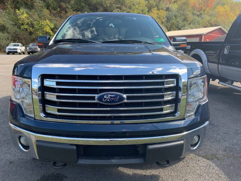 2013 Ford F-150 4x4 Lariat 4dr SuperCrew Styleside 5.5 ft. SB - Weston WV