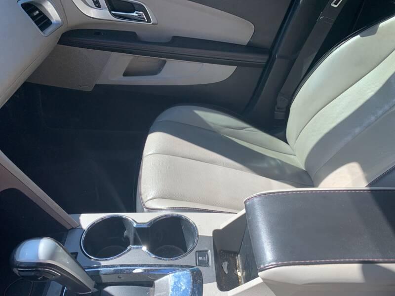 2012 Chevrolet Equinox AWD LTZ 4dr SUV - Weston WV