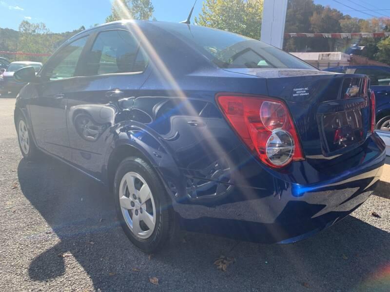 2014 Chevrolet Sonic LS Manual 4dr Sedan - Weston WV