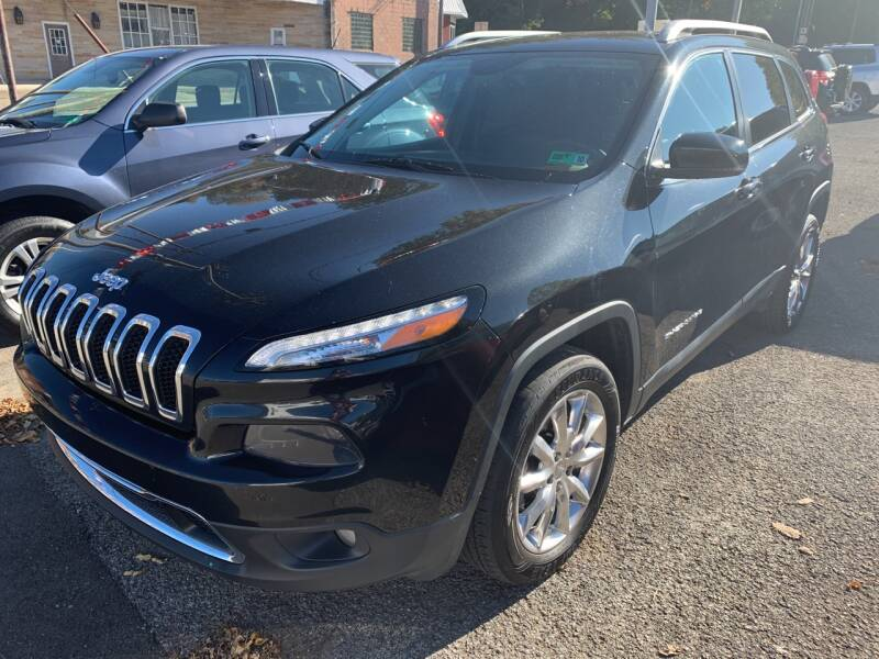 2016 Jeep Cherokee 4x4 Limited 4dr SUV - Weston WV