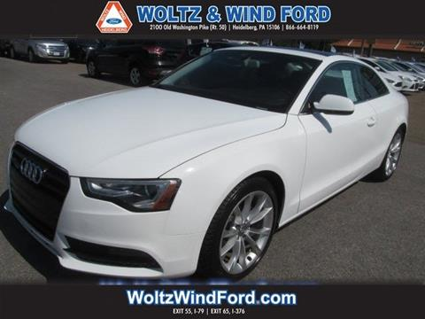 2013 Audi A5 for sale in Heidelberg, PA