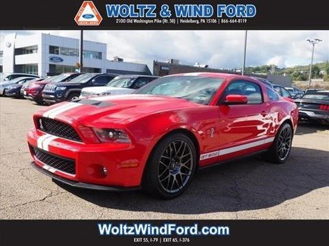 2011 Ford Shelby GT500 for sale in Heidelberg, PA