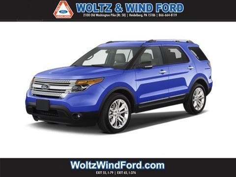 2013 Ford Explorer for sale in Heidelberg, PA