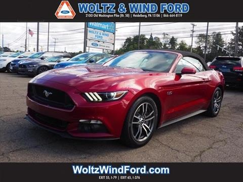 2017 Ford Mustang for sale in Heidelberg, PA