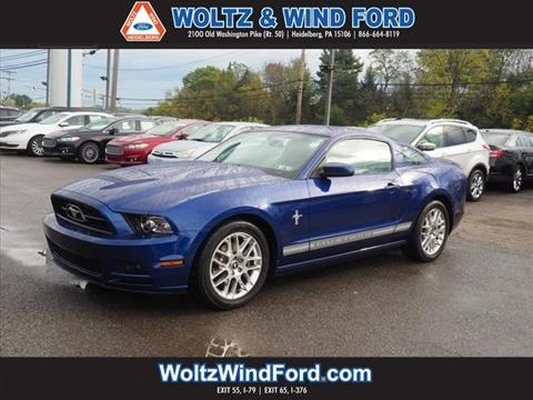2013 Ford Mustang for sale in Heidelberg, PA